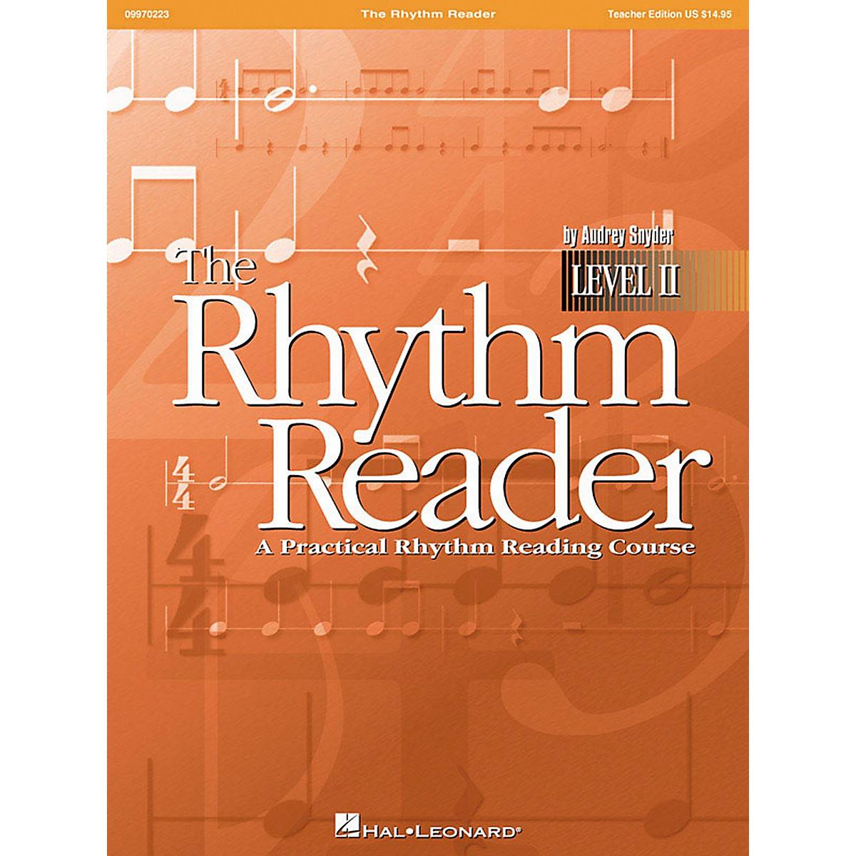 Hal Leonard The Rhythm Reader II - A Practical Rhythm Reading Course Teacher Edition
