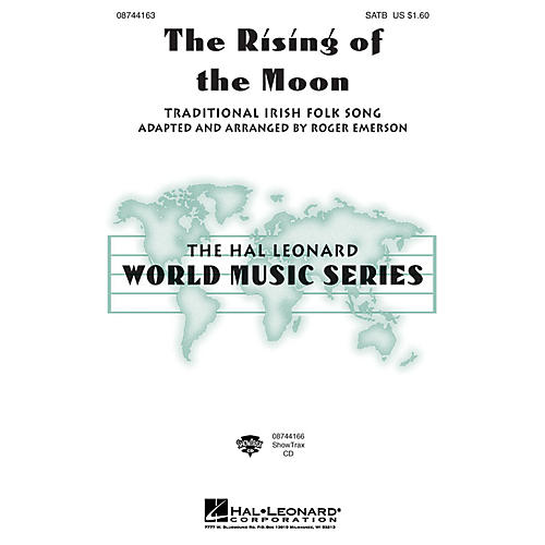 Hal Leonard The Rising of the Moon SAB Arranged by Roger Emerson