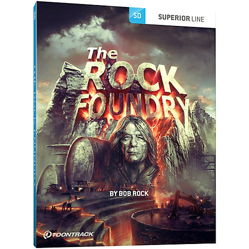 Toontrack The Rock Foundry SDX