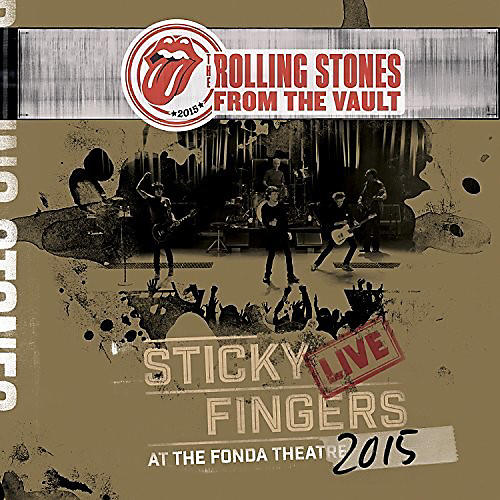 Alliance The Rolling Stones - From The Vault - Sticky Fingers: Live At The Fonda Theater 2015