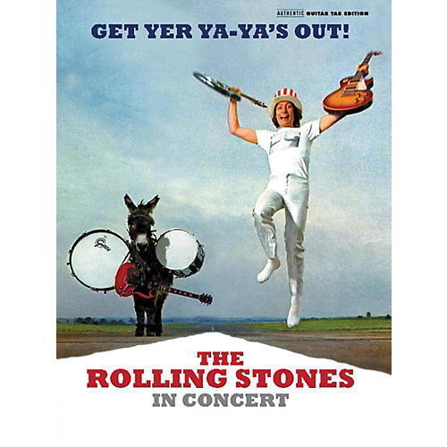 Alfred The Rolling Stones - Get Yer Ya-Ya's Out! Guitar TAB Book