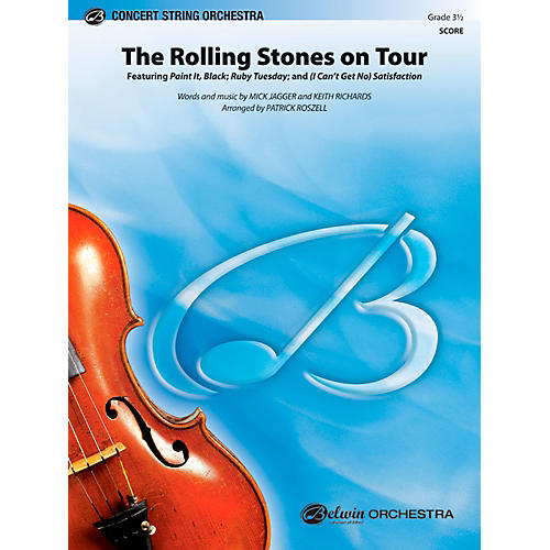 Alfred The Rolling Stones on Tour Concert String Orchestra Grade 3.5 Set