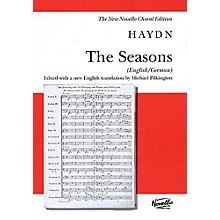 Novello The Seasons (New Edition - English/German) (Vocal Score) SATB Composed by Franz Joseph Haydn