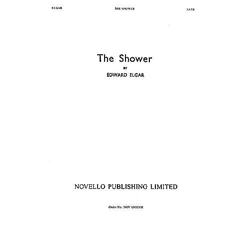 Novello The Shower (Op.71, No.1) SATB Composed by Edward Elgar