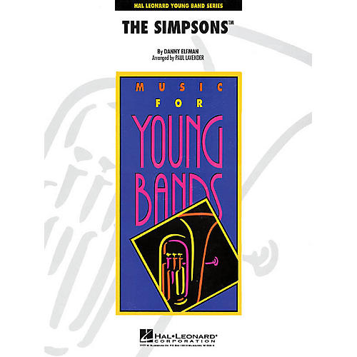 Hal Leonard The Simpsons - Young Concert Band Level 3 by Paul Lavender