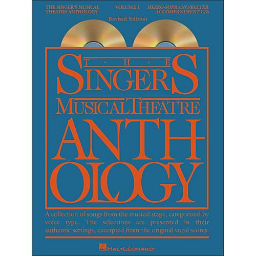 Hal Leonard The Singer's Musical Theatre Anthology for Mezzo-Soprano / Belter Volume 1 (2CDs)