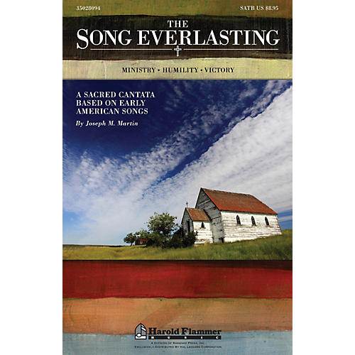 Shawnee Press The Song Everlasting (A Sacred Cantata based on Early American Songs) Studiotrax CD by Joseph Martin