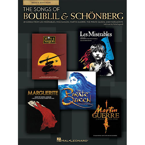 Hal Leonard The Songs Of Boublil And Sch¶nberg - Men's Edition