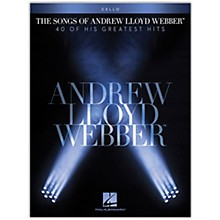 Hal Leonard The Songs of Andrew Lloyd Webber for Cello Instrumental Songbook