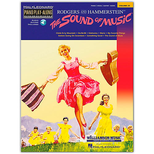 Hal Leonard The Sound Of Music Piano Play-Along Volume 25  (Book/Audio Online)