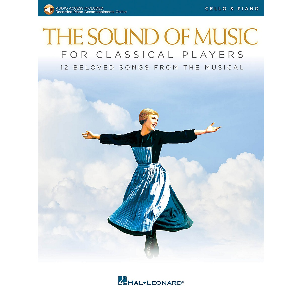 Hal Leonard The Sound of Music for Classical Players - Cello and Piano Book/Audio Online