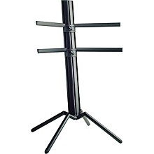 K&M The Spider Double Tier Column Keyboard Stand