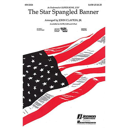 Hal Leonard The Star Spangled Banner 2-Part Arranged by John Clayton, Jr.
