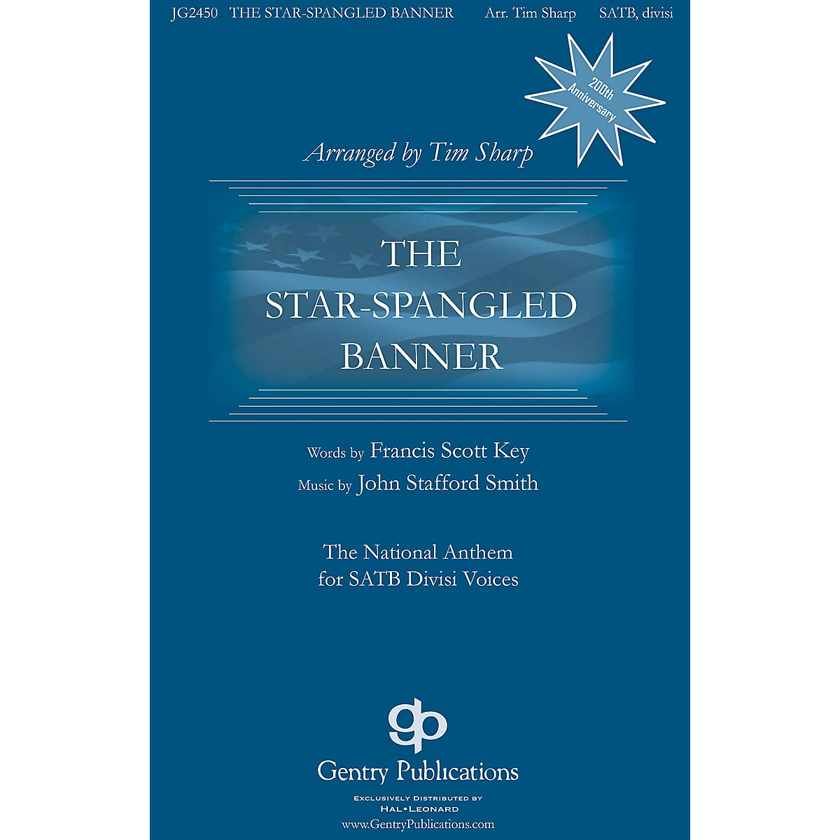 Gentry Publications The Star-Spangled Banner SAB optional a cappella Arranged by Tim Sharp