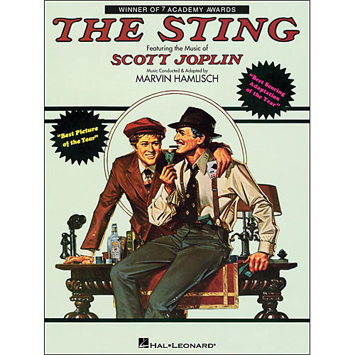 Hal Leonard The Sting arranged for piano solo