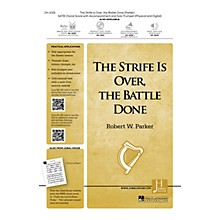 Jubal House Publications The Strife Is Over, the Battle Done SATB composed by Robert W. Parker