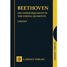 G. Henle Verlag The String Quartets Complete Henle Study Scores Series Softcover Composed by Ludwig van Beethoven