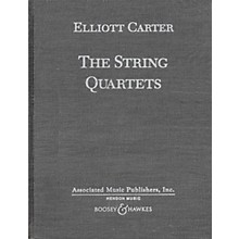 Boosey and Hawkes The String Quartets (Complete in Hardbound) Boosey & Hawkes Scores/Books Series by Elliott Carter