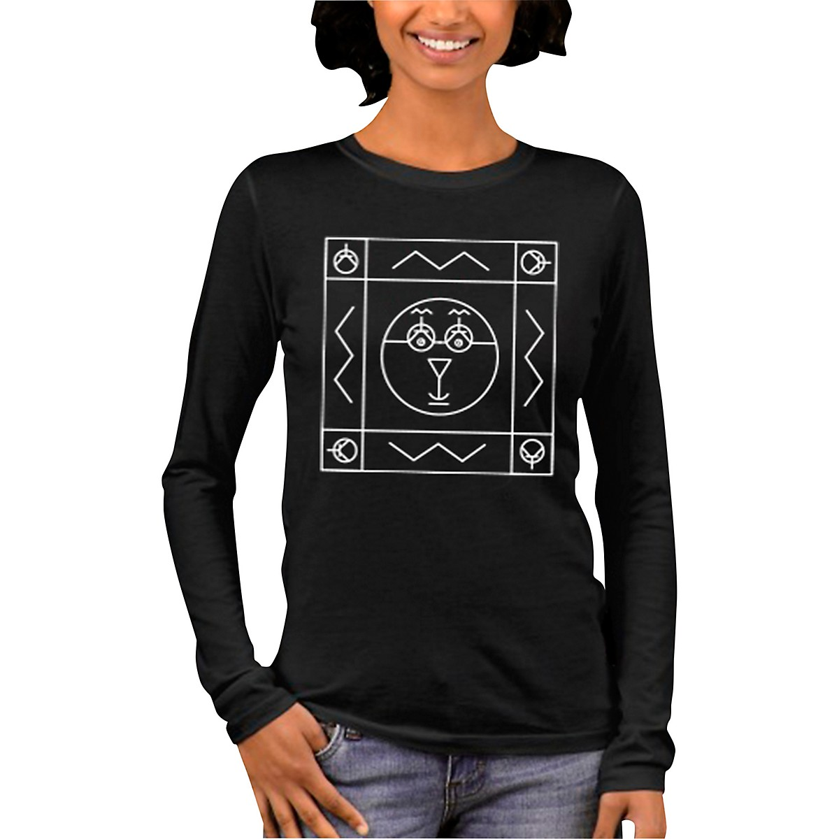 Moog The Symbol Women's  Long Sleeve T-Shirt
