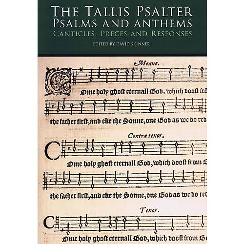 Novello The Tallis Psalter - Psalms and Anthems (SATB) SATB Composed by Thomas Tallis