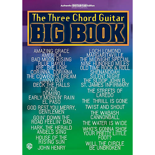 Alfred The Three Chord Guitar Big Book Guitar Center