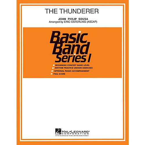 Hal Leonard The Thunderer Concert Band Level 1 Arranged by Eric Osterling