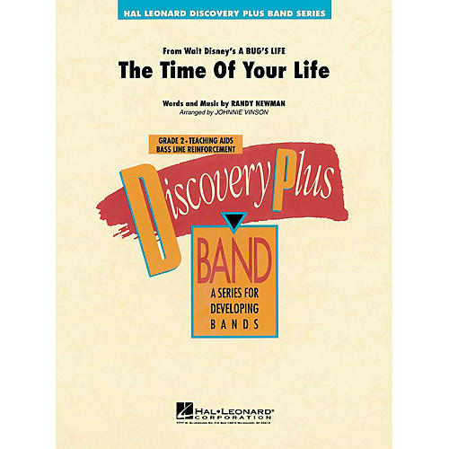 Hal Leonard The Time of Your Life - Discovery Plus Concert Band Series Level 2 arranged by Johnnie Vinson