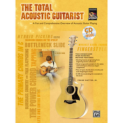 Alfred The Total Acoustic Guitarist Book and CD