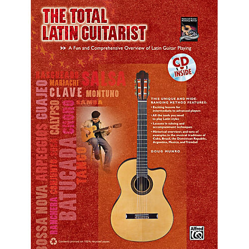 Alfred The Total Latin Guitarist Book & CD