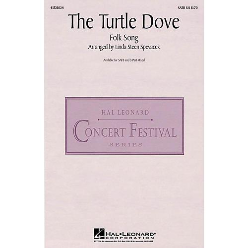Hal Leonard The Turtle Dove SATB arranged by Linda Spevacek