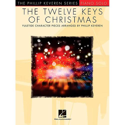 Hal Leonard The Twelve Keys Of Christmas - Phillip Keveren Series - Piano Solo