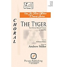 Pavane The Tyger SATB DV A Cappella composed by Andrew Miller