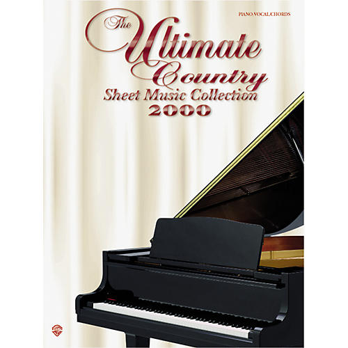 Alfred The Ultimate Country Sheet Music Collection 2000 Book