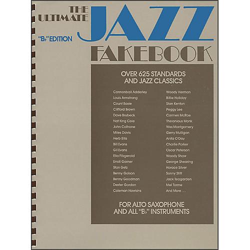 Hal Leonard The Ultimate Jazz Fake Book, The B Flat Edition