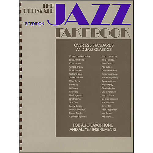 Hal Leonard The Ultimate Jazz Fake Book, The E Flat Edition