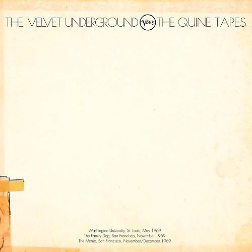 Alliance The Velvet Underground - Quine Tapes