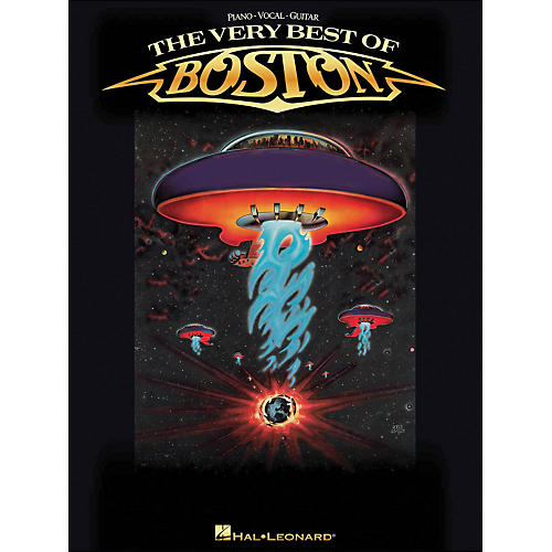 Hal Leonard The Very Best Of Boston arranged for piano, vocal, and guitar (P/V/G)