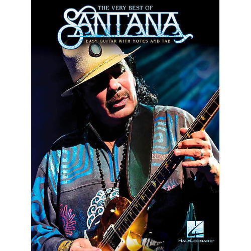 Hal Leonard The Very Best Of Santana - Easy Guitar with Tab