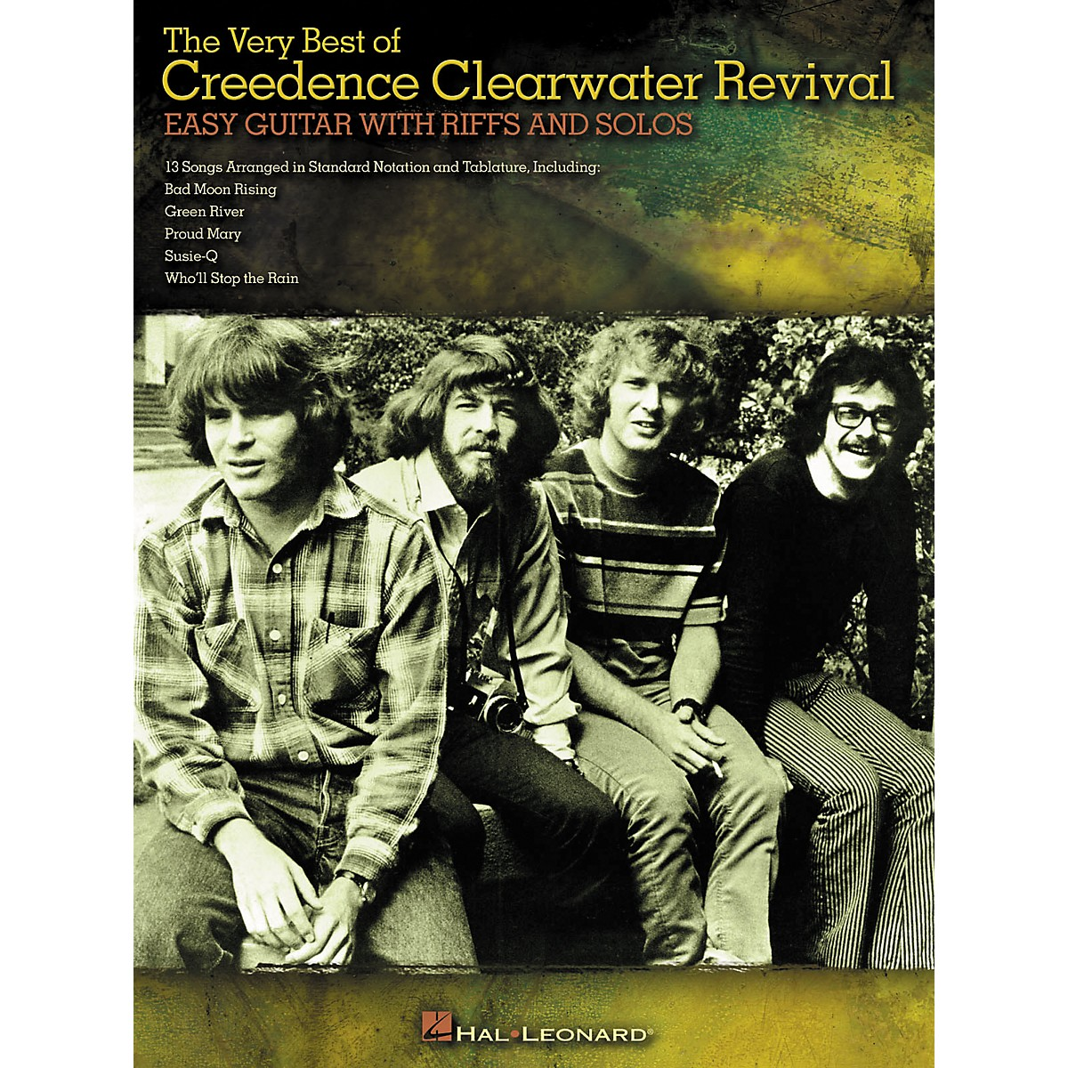 Hal Leonard The Very Best of Creedence Clearwater Revival - Easy Guitar with Tab Riffs and Solos