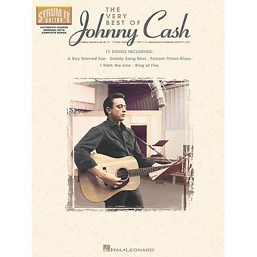 Hal Leonard The Very Best of Johnny Cash Guitar Tab Songbook