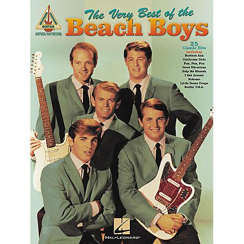 Hal Leonard The Very Best of the Beach Boys Guitar Tab Songbook