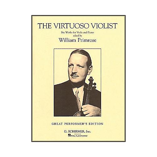 G. Schirmer The Virtuoso Violist for Viola And Piano