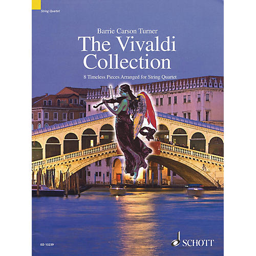 Schott The Vivaldi Collection String Series Softcover Composed by Antonio Vivaldi