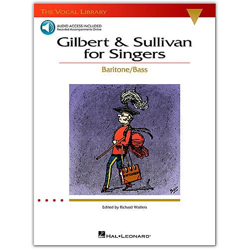 Hal Leonard The Vocal Library Series: Gilbert & Sullivan for Singers - Baritone/Bass (Book/Online Audio)