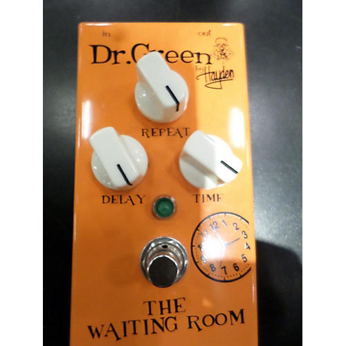 Dr. Green The Waiting Room Delay Effect Pedal