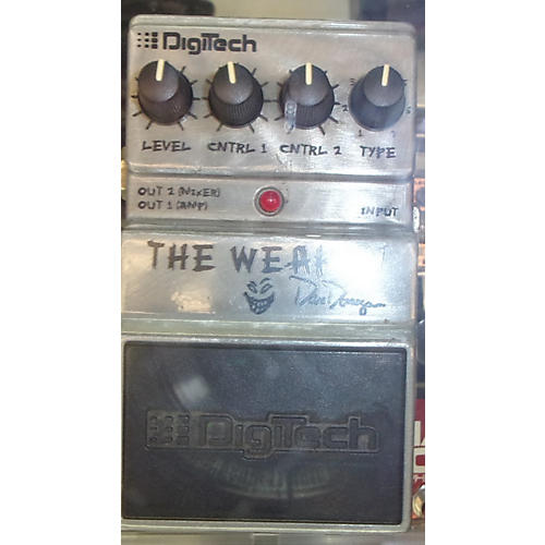 Digitech The Weapon Silver Effect Processor