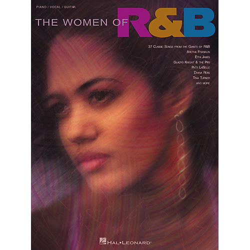 Hal Leonard The Women of R'n'B Piano/Vocal/Guitar Songbook