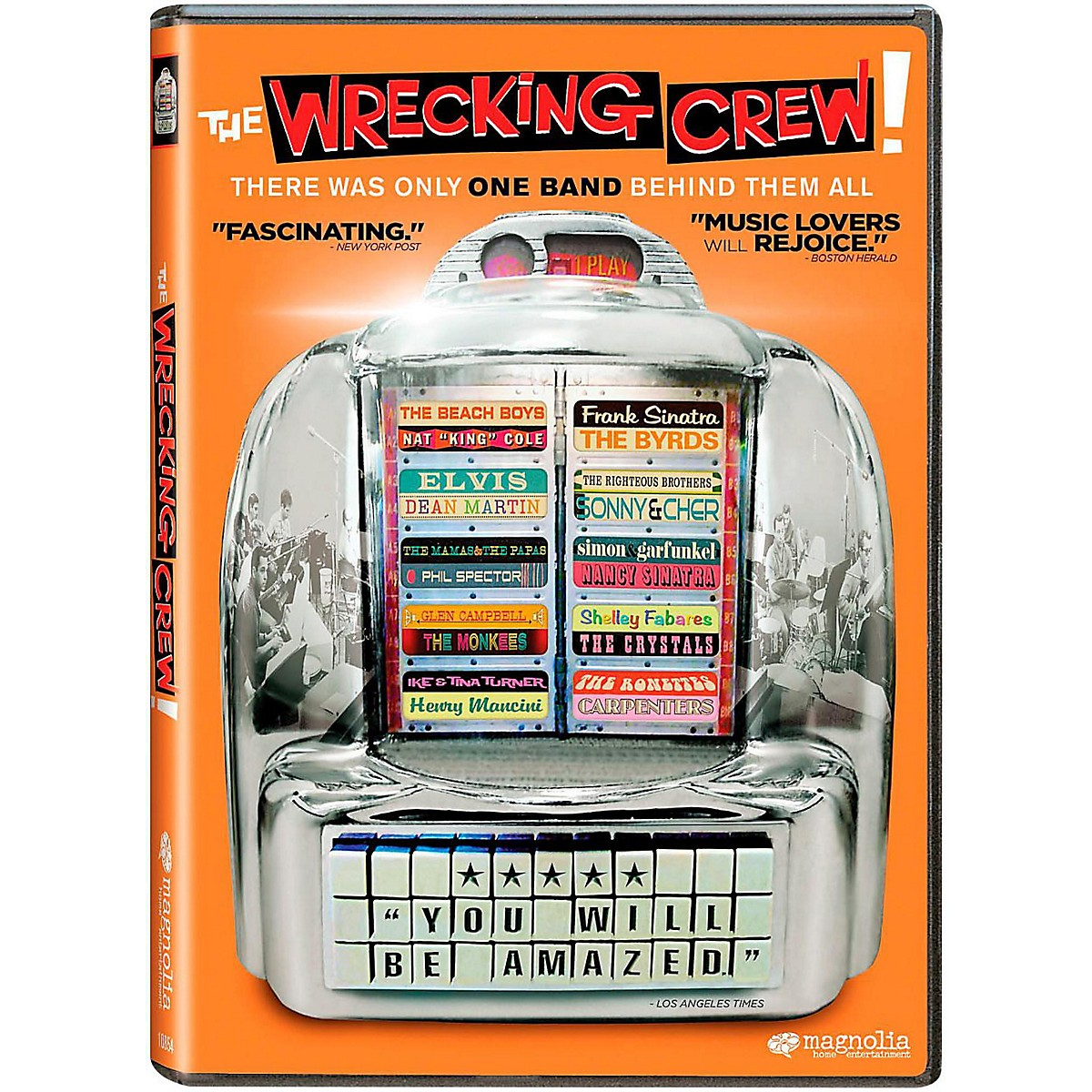 Hal Leonard The Wrecking Crew -  Documentary with Bonus Material 2 DVD Set