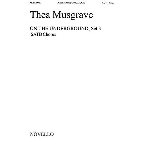 Music Sales Thea Musgrave: On The Underground, Set 3 Music Sales America Series