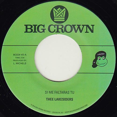 Alliance Thee Lakesiders - Si Me Faltaras Tu / Parachute